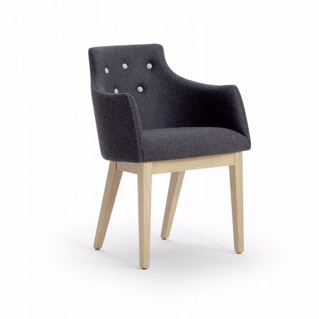 Kylie Armchair Button Back