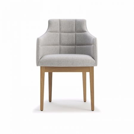 Kylie Armchair Square Stiched Back