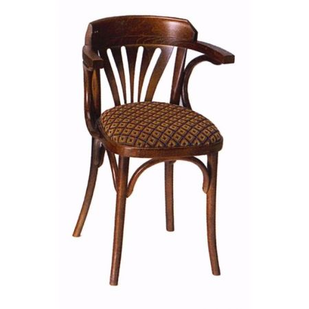 Bentwood Fanback Armchair