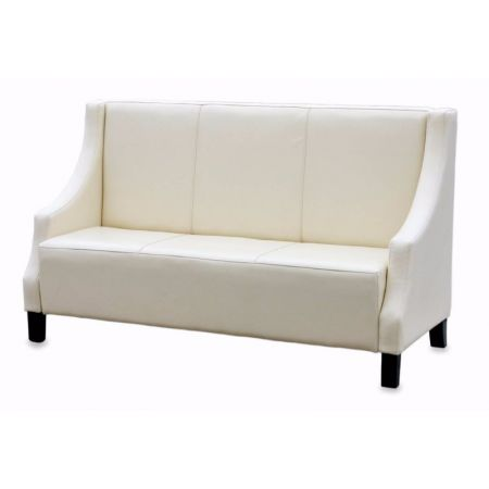Plain Seat & Back Seating on Legs With Sloped Arms