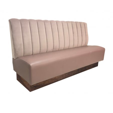 Exaggerated Ribbed Fixed Seating