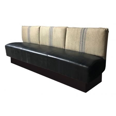 Cushion Effect Back Fixed Seating