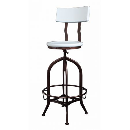 Highback Foundry Stool