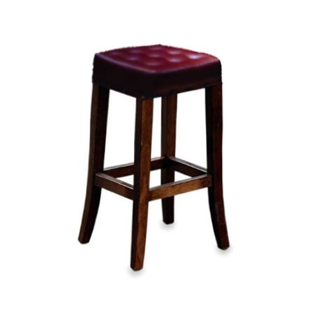 High Duggan Stool Buttoned
