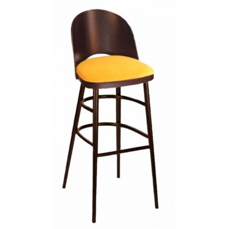 High Cadiz Stool Uph Seat Only