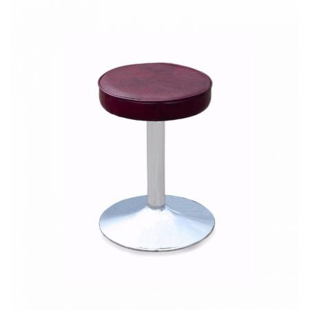 Low Chrome Trumpet Stool