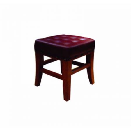 Low Duggan Stool Buttoned