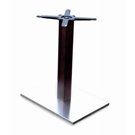 Rectangular Lama St/Steel Base, Timber Column