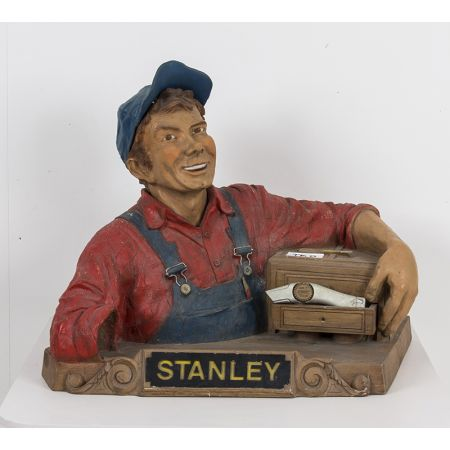 Stanley knives advertising  statue