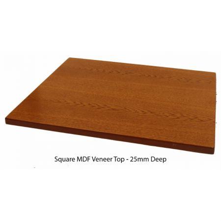 Square MDF Veneer Top