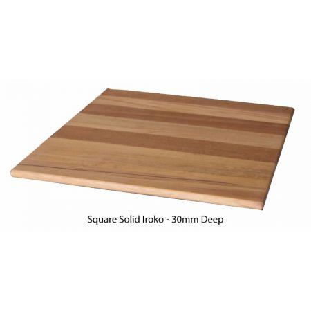 Square Solid Iroko