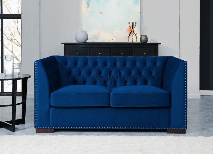 Chester 2 Seater Sofa Royal Blue Code 134 Rb In Stock Trade Only Login To View Our Prices