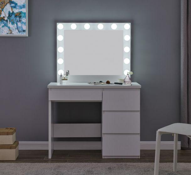 Hollywood Vanity Makeup Mirror Black