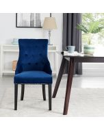 Lion Dining Chair Royal Blue