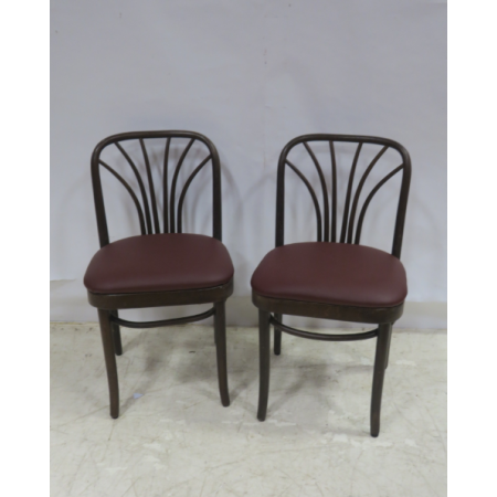 Retro bentwood side chair