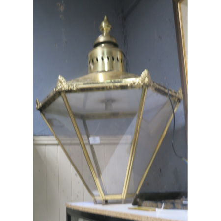 Gilt hall lantern