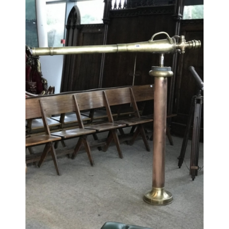 Copper and brass fire hose