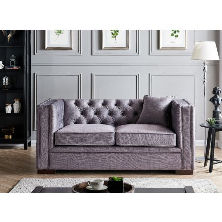Montreal 2 Seater-Slate Grey