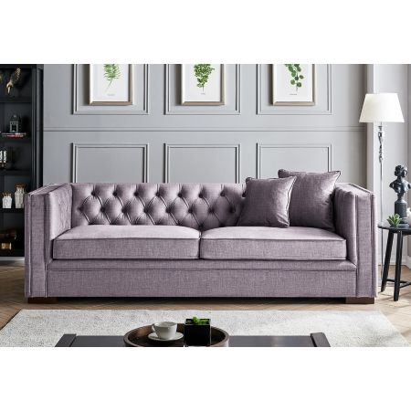 Montreal 3 Seater-Slate Grey