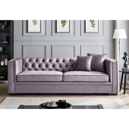 Montreal 3 Seater-Slate Grey