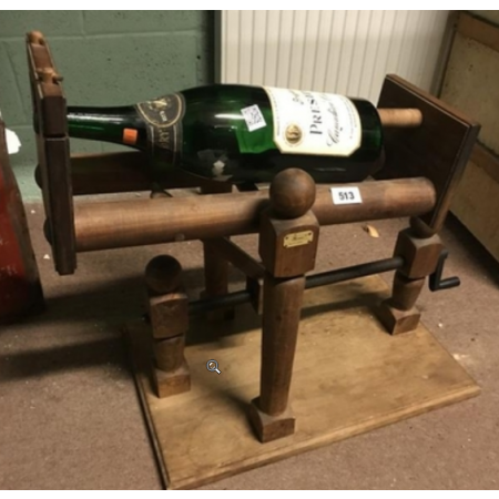 Champagne Bottle holder.
