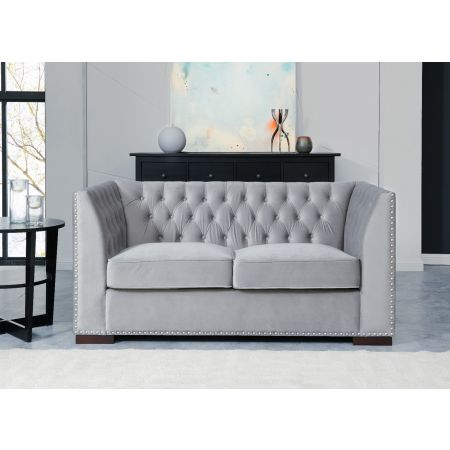 Chester 2 Seater Sofa Grey