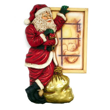 Santa With Window - 3ft