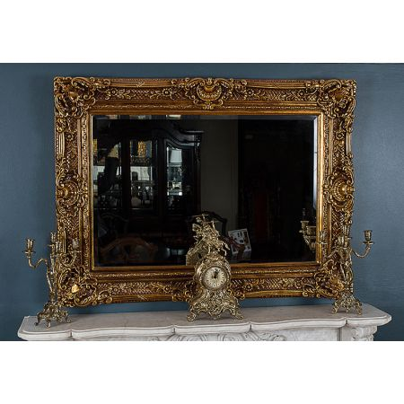 Chester Mirror - Antique Gold