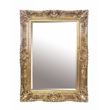 Chester Mirror - Antique Silver