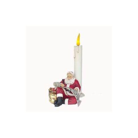 Santa at Candle