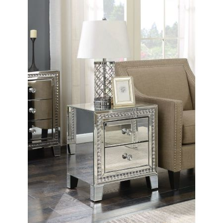 Loughton 2 Drawer Lamp Table