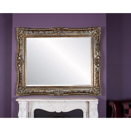 Toulouse Mirror Silver