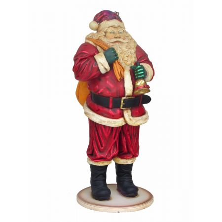 Merry Santa - 4ft