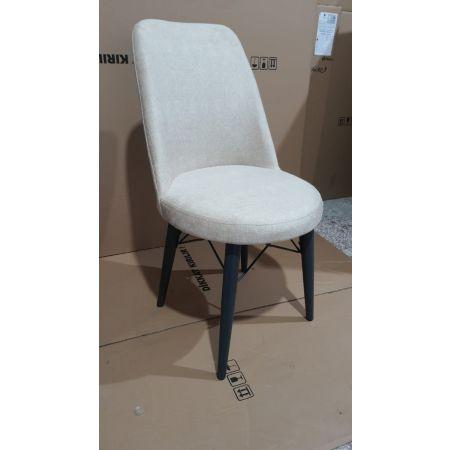 Eva Chair - Beige/Anthracite  (Set of 2)*PRICE TBC