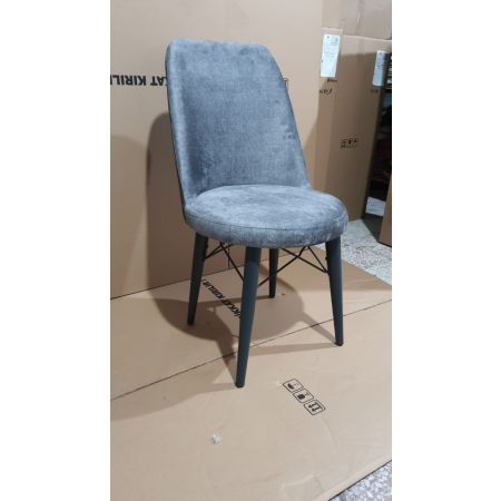 Eva Chair - Charcoal/Anthracite (Set of 2)*PRICE TBC