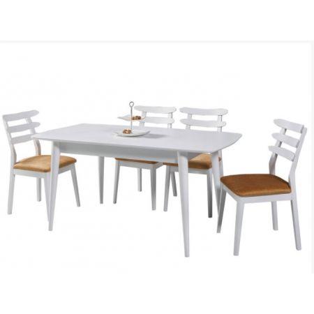 Fara Extending Dining Table - White *PRICE TBC