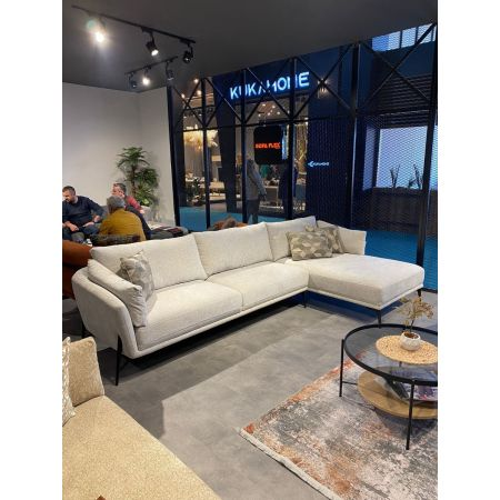 Hilton Corner Sofa Left - Light Grey *PRICE TBC