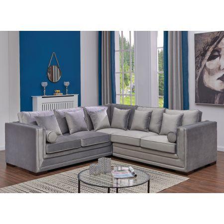 Valiona Silver Corner Suite- Large
