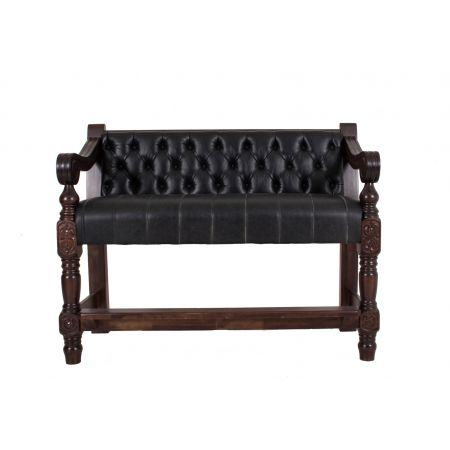 High Heavy Dublin Buttonback Drinkstand Bench