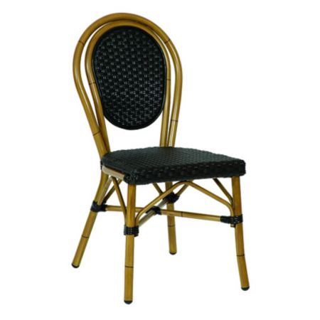 Riviera Woven Chair Black
