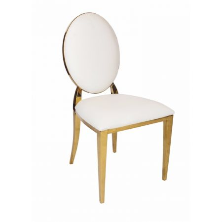 Oval Back Stacking Chair
