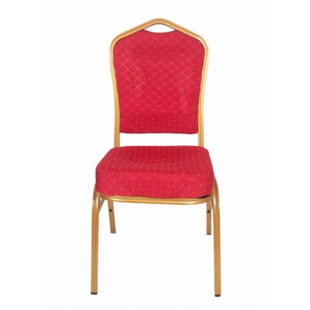 Moulded Banquet Chair Gold Frame
