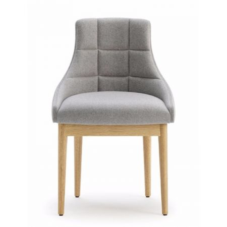 Kylie Side Chair Square Stiched Back