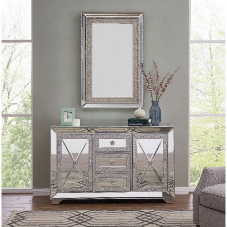 Sofia 3 Drawer Sideboard & Mirror