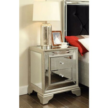 Sofia 2 Drawer Lamp Table