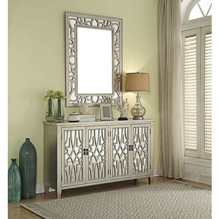 Gallo 4 Door Sideboard & Mirror