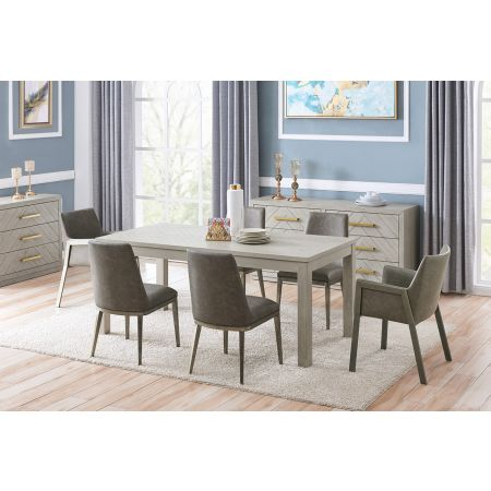Gilroy Dining Table & 6 Chairs