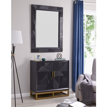 Orlando 2 Door Chest & Mirror