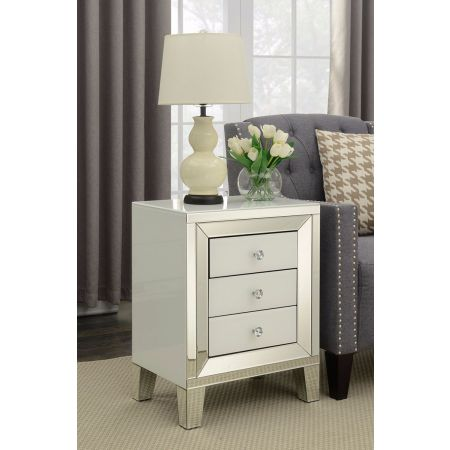 Malibu 3 Drawer End Table
