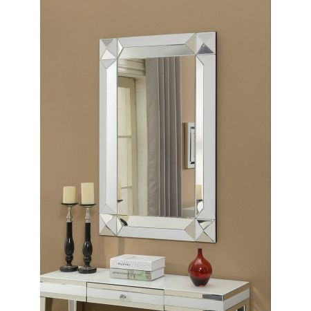 Malibu Rectangular Mirror 4ftx3ft